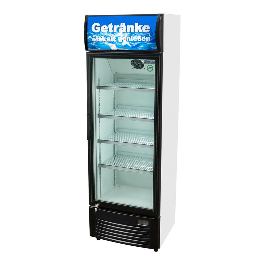 Kühlschrank Glasfront